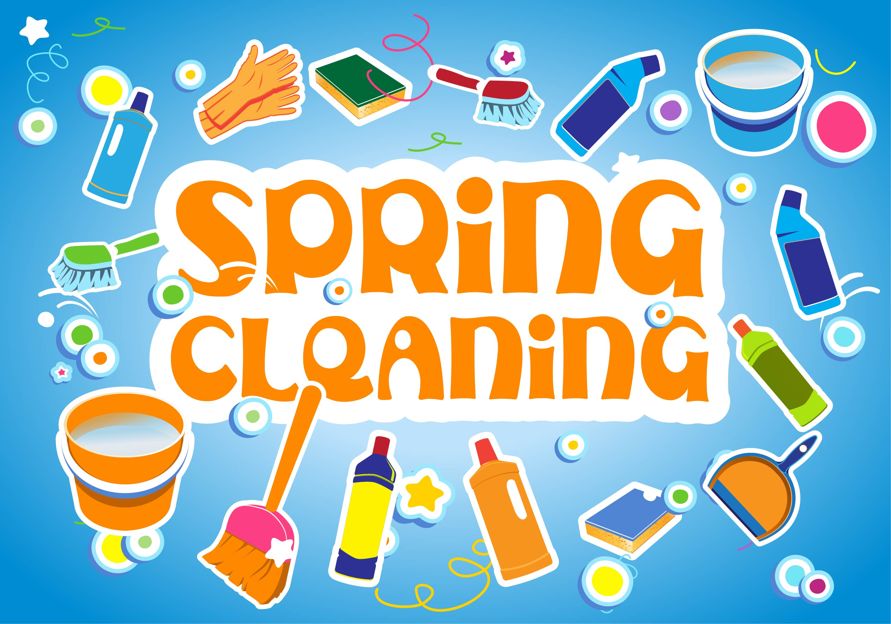 Spring Cleaning During The Winter