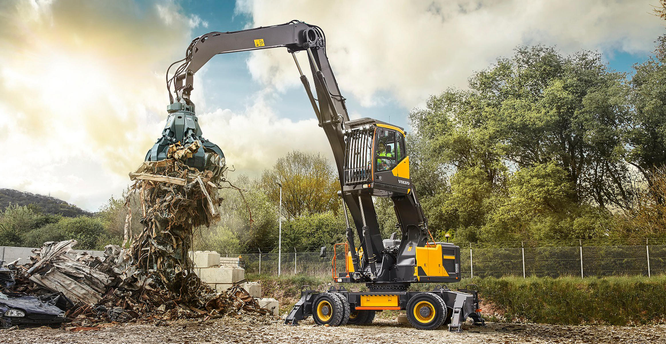 What are the different types of excavators?